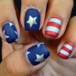 23+ Gorgeous 4th Of July Nails