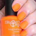 100 Orange Nail Color Nail Design